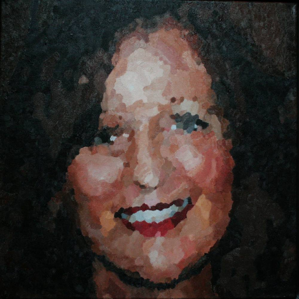 Angelique 50 x 50 cm januari 2010 Roermond