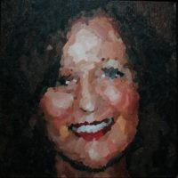 Angelique januari 2010 50 x 50 cm