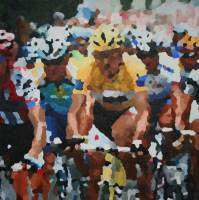 Cancellara november 2009 80 x 80 cm