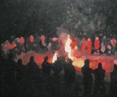 Foc de Sant Joan Februari 2010 (Gent)