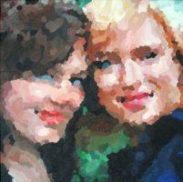 Fon en Sel december 2009 50 x 50 cm