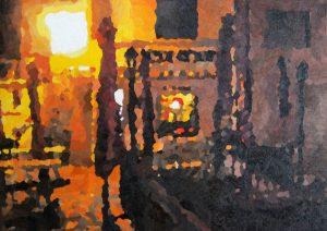 Point d'Art la nuit augustus 2016 (Saint Marsal, Frankrijk)